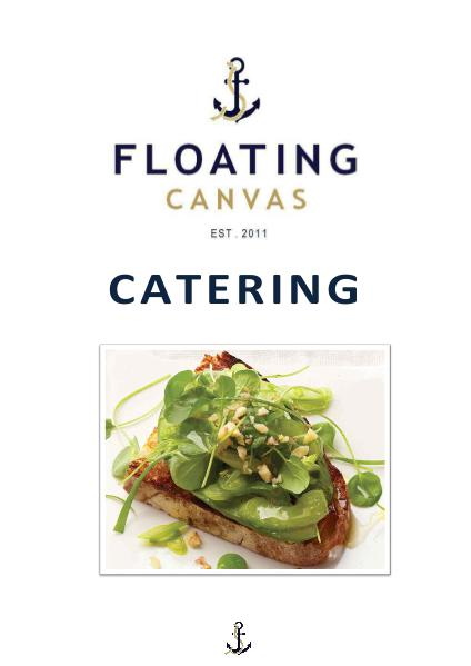 CATERING OPTIONS AND DETAILS