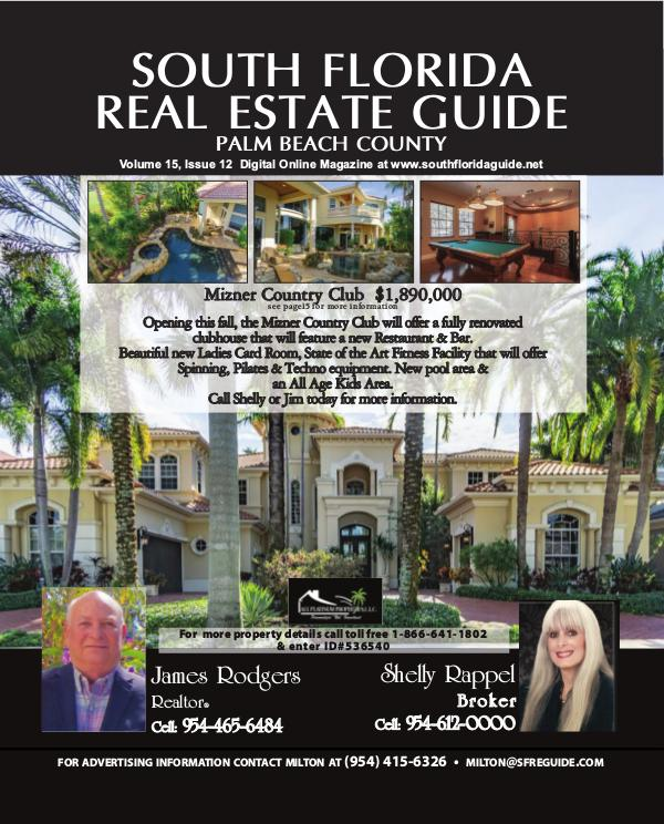 South Florida Real Estate Guide Issue12