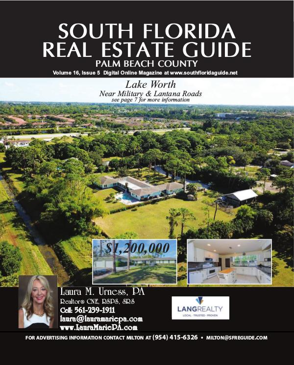 South Florida Real Estate Guide Volume 16 Issue 5