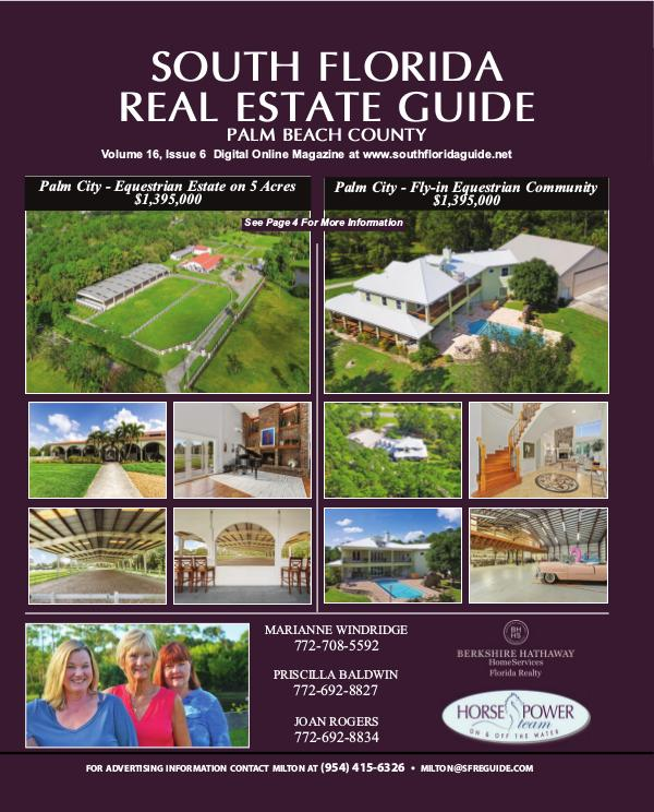 South Florida Real Estate Guide issue 6