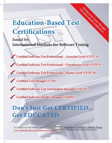 IIST - Software Testing Training Brochure Jun. 2015