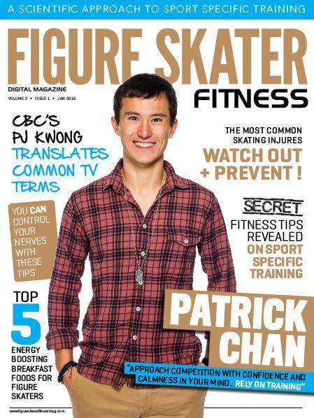 Figure Skater Fitness Magazine January 2016