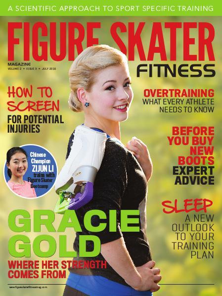 Figure Skater Fitness Magazine July 2016