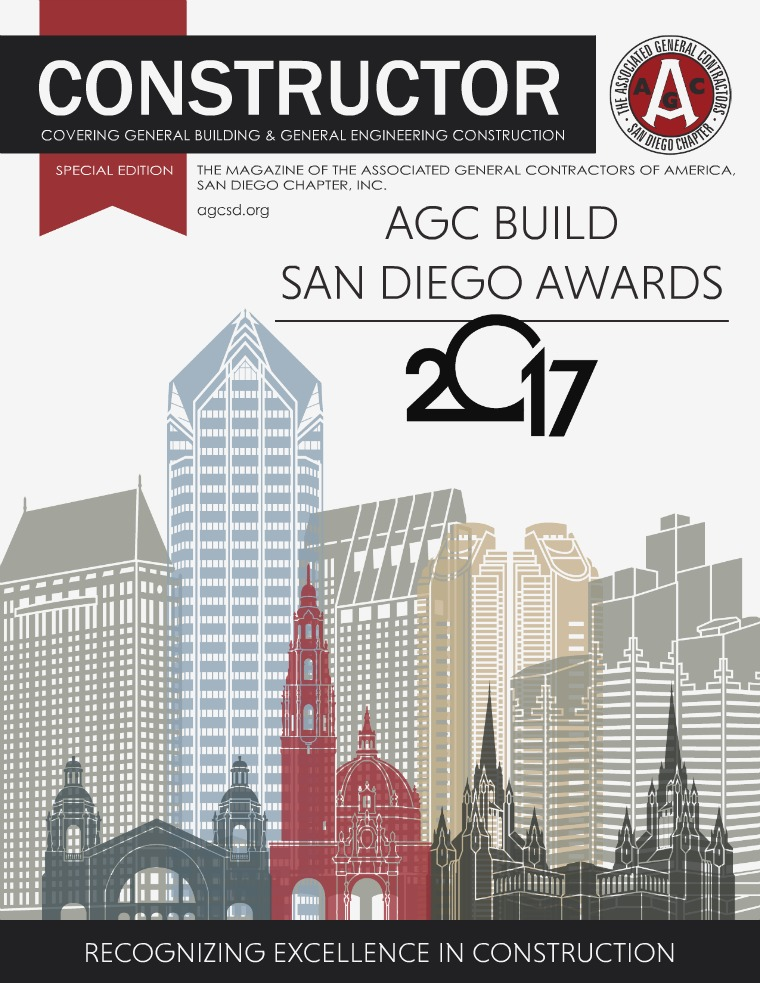 AGC San Diego Constructor Special Edition 2017 Build San Diego Awards Special Edition - 2017 Build San Diego Awards