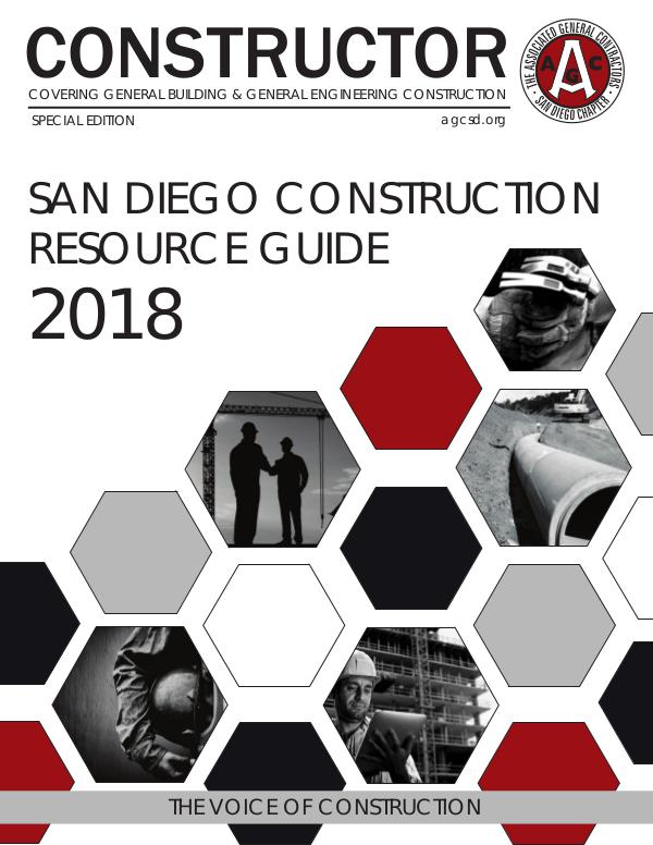 AGC San Diego CONSTRUCTOR - 2018 Resource Guide Special Edition 2018