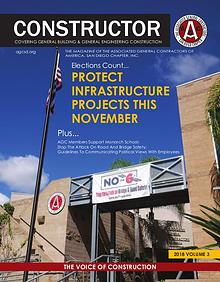 AGC San Diego CONSTRUCTOR Magazine 2018 - Volume 3