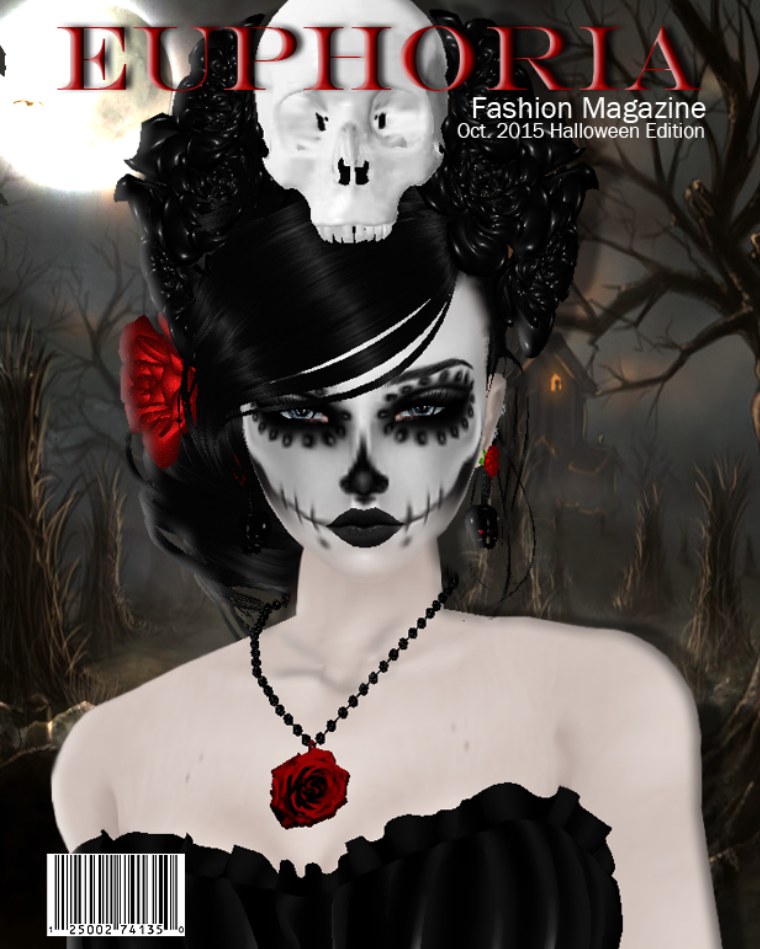 Euphoria Fashion Magazine October Halloween S.E.