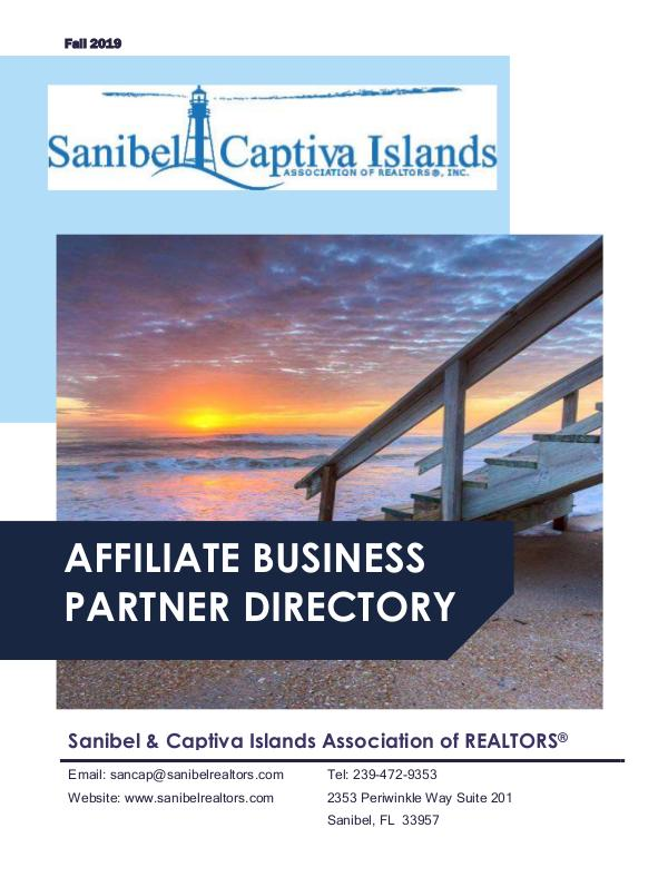Affiliate Directory Fall 2019 Affiliates Directory