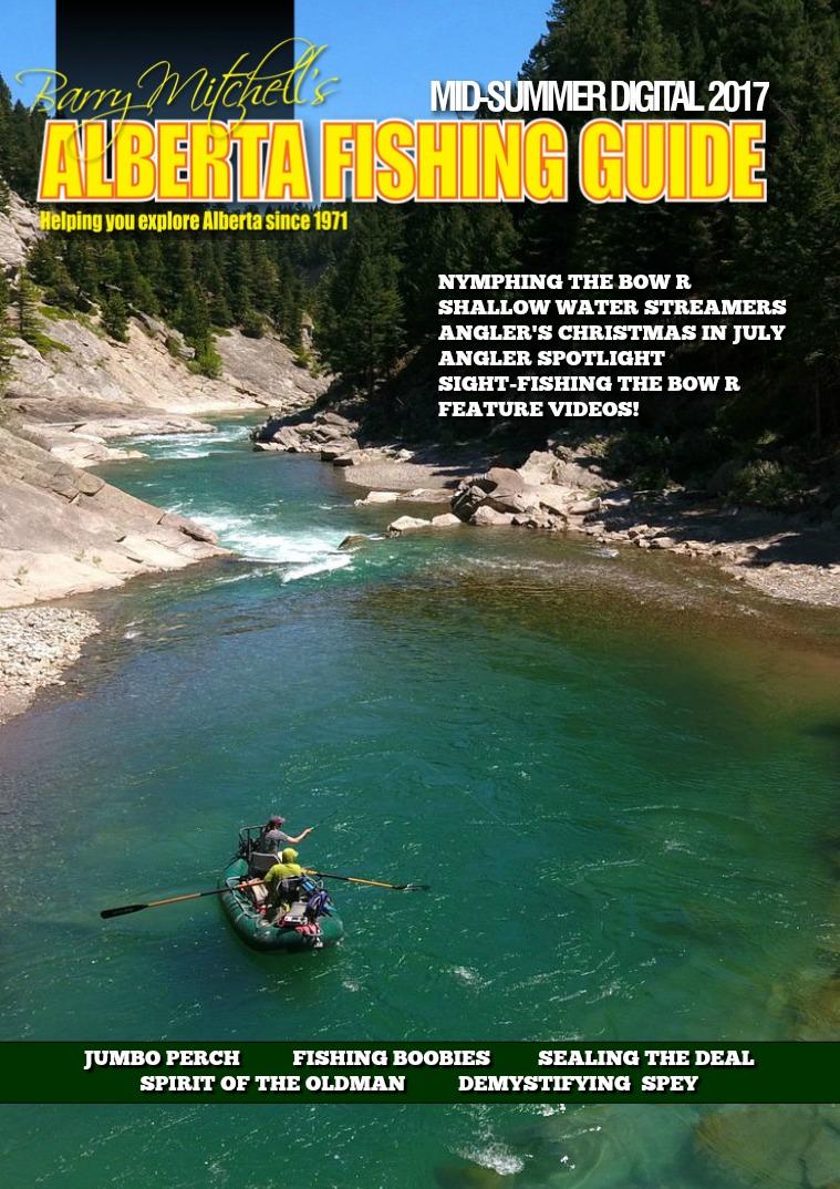 Alberta Fishing Guide 2017 Mid-Summer Digital