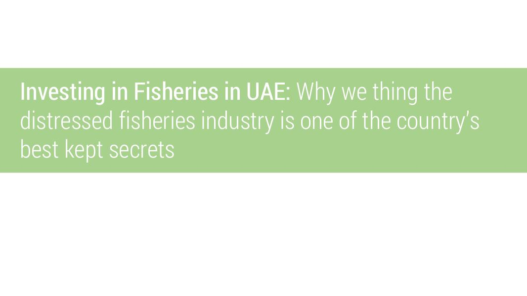 Fisheries and Aquaculture in UAE Aquaculture In The United Arab Emirates