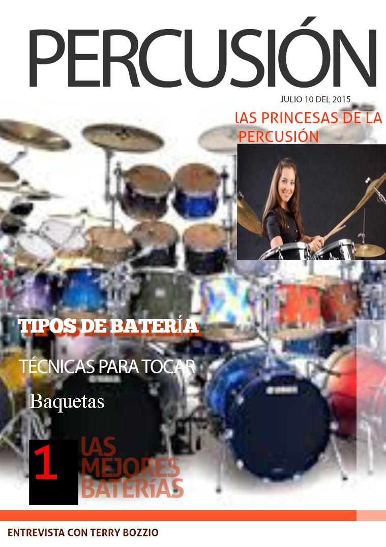 Instrumentos de Percusión volumen 1