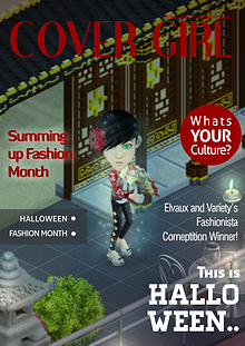 Cover Girl© Fashion Magazine