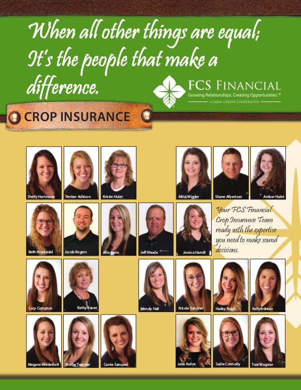 Testimonials Crop Insurance Winter 2018