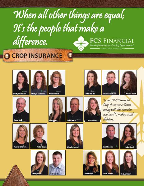 Crop Insurance Winter 2015