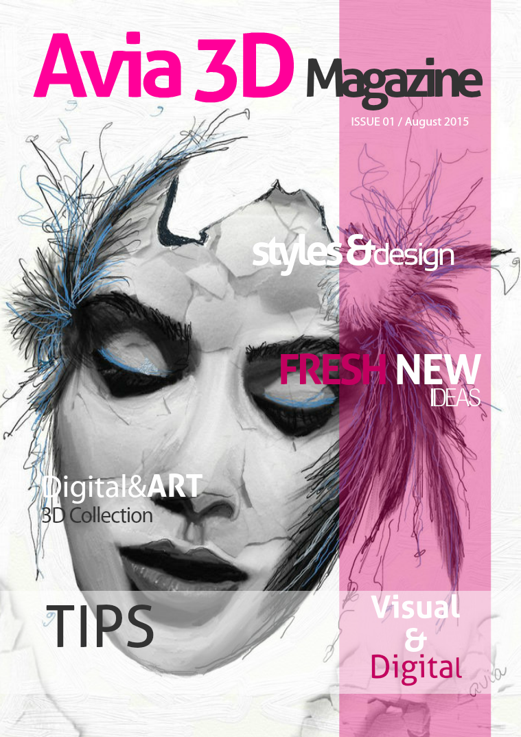 Avia 3D Magazine August 2015