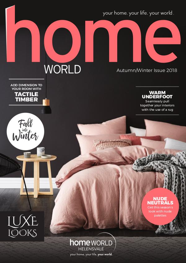 Homeworld Magazine Autumn and Winter 2018