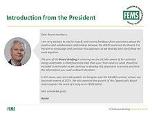FEMS Board Briefing