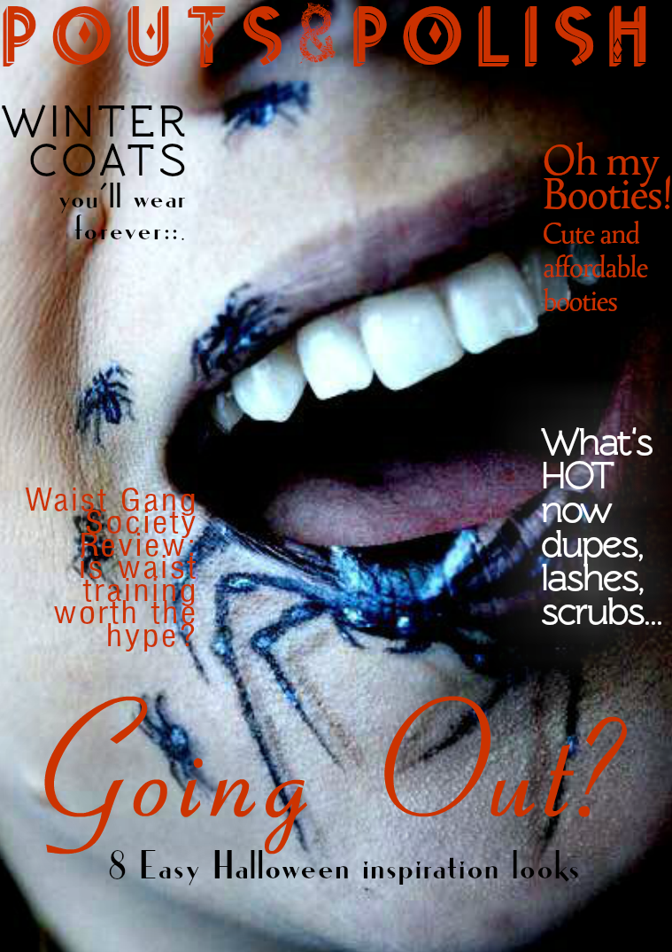 Pouts and Polish October 2015