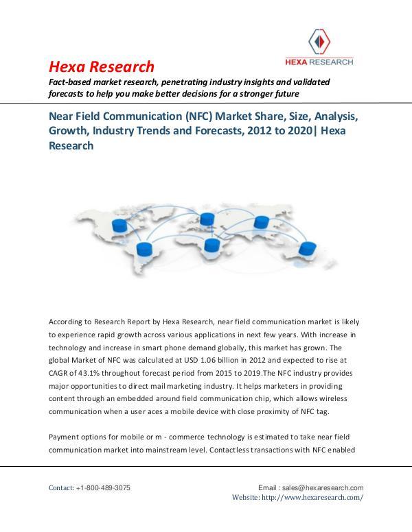 Near Field Communication (NFC) Market Trends 2020