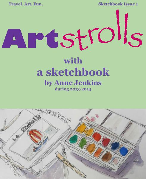 ART Strolls with a Sketchbook 1