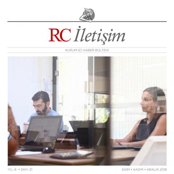 RC İLETİŞİM / SAYI: 21 RCILETISIM 21