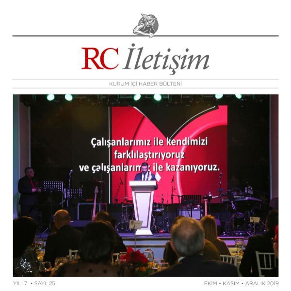 RC İLETİŞİM / SAYI: 25 RCILETISIM 25