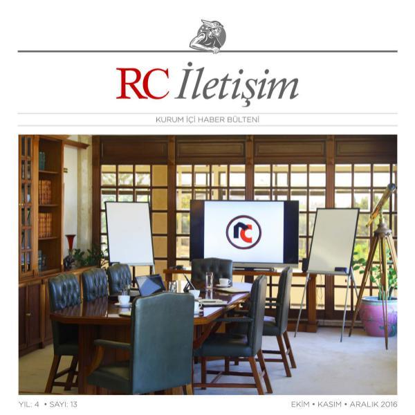 RC İLETİŞİM / SAYI: 13 Ramadan Cemil