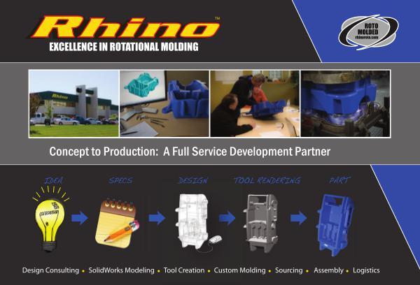 Rhino Rotational Molding Roto Molding