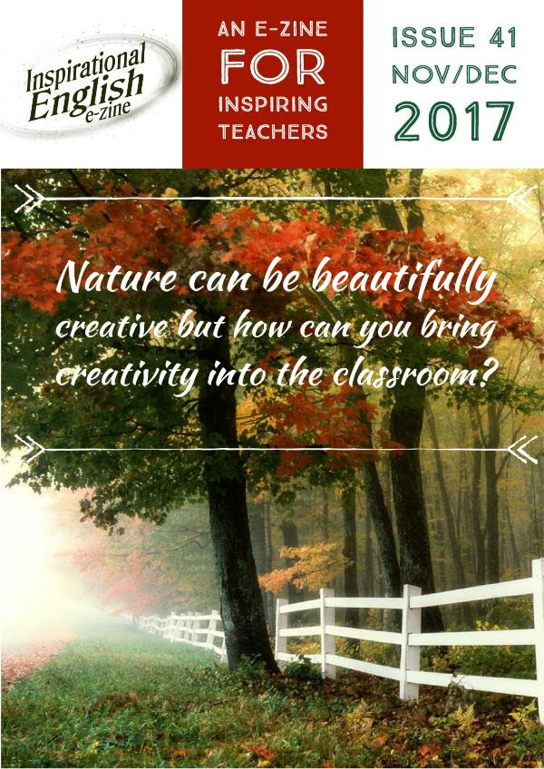 Inspirational English, Issue 41 Inspirational English, Issue 41, Sep Oct2017