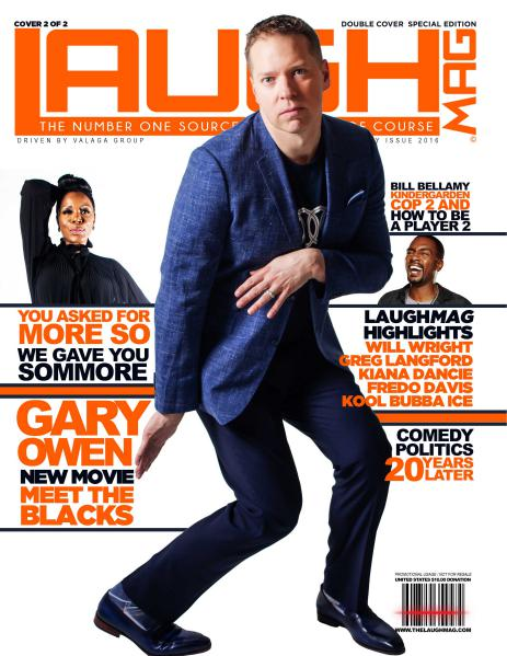 LaughMag Summer 2016 Sommore Cover 1 of 2 Summer 2016 Cover 2 of 2 Vol. 3