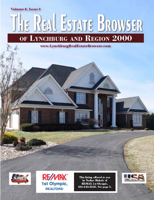 The Real Estate Browser Volume 8, Issue 3