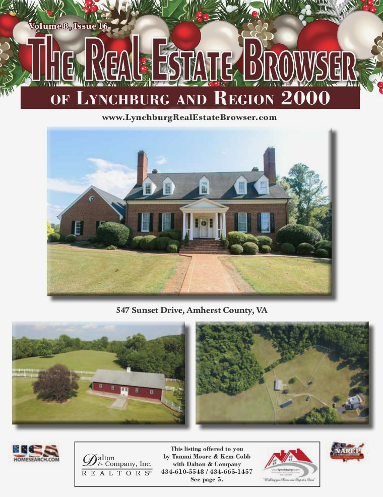 The Real Estate Browser Volume 8, Issue 16