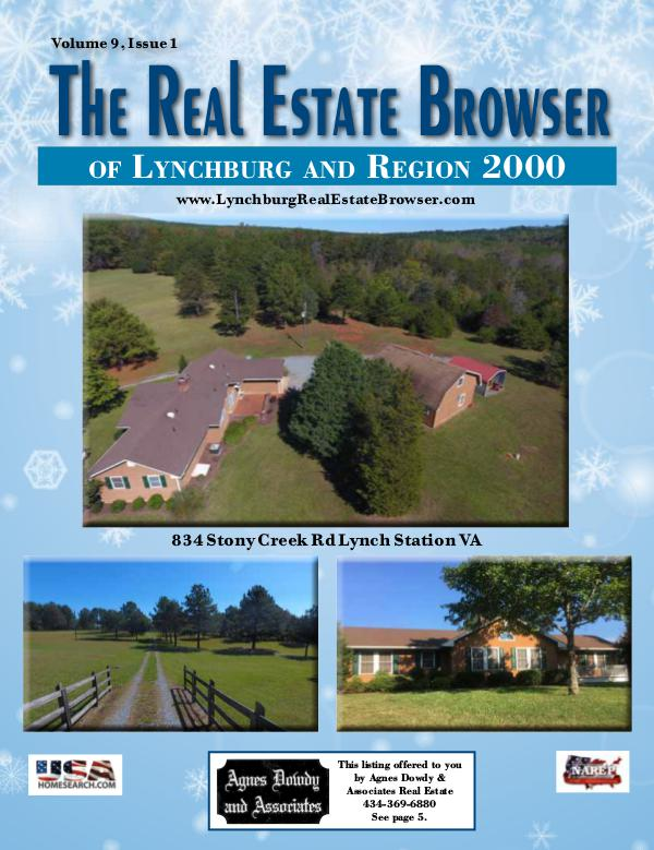 The Real Estate Browser Volume 9, Issue 1