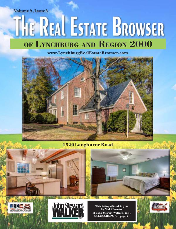The Real Estate Browser Volume 9, Issue 3