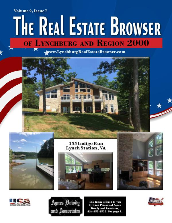 The Real Estate Browser Volume 9, Issue 7