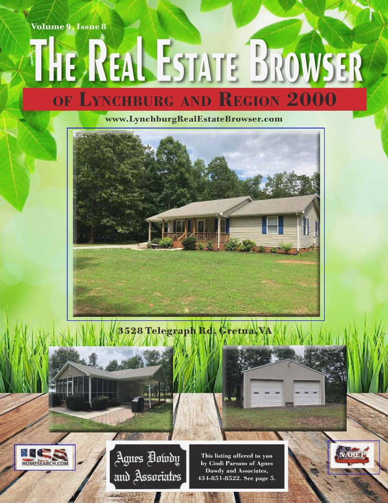The Real Estate Browser Volume 9, Issue 8