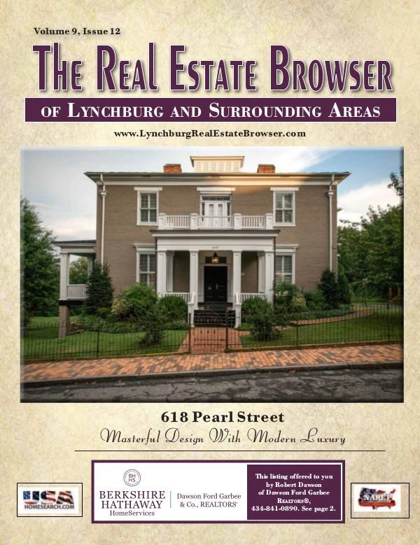 The Real Estate Browser Volume 9, Issue 12