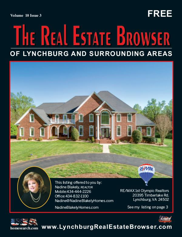 The Real Estate Browser Volume 10, Issue 3