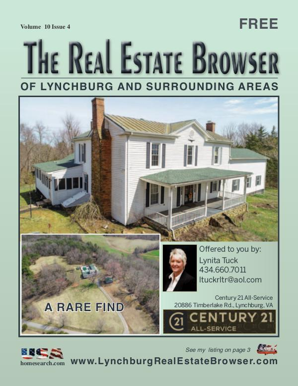 The Real Estate Browser Volume 10, Issue 4