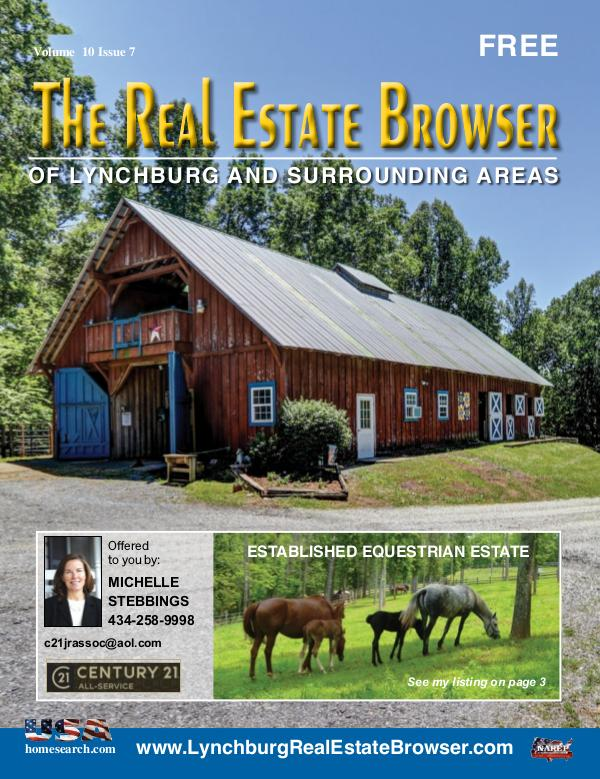 The Real Estate Browser Volume 10, Issue 7
