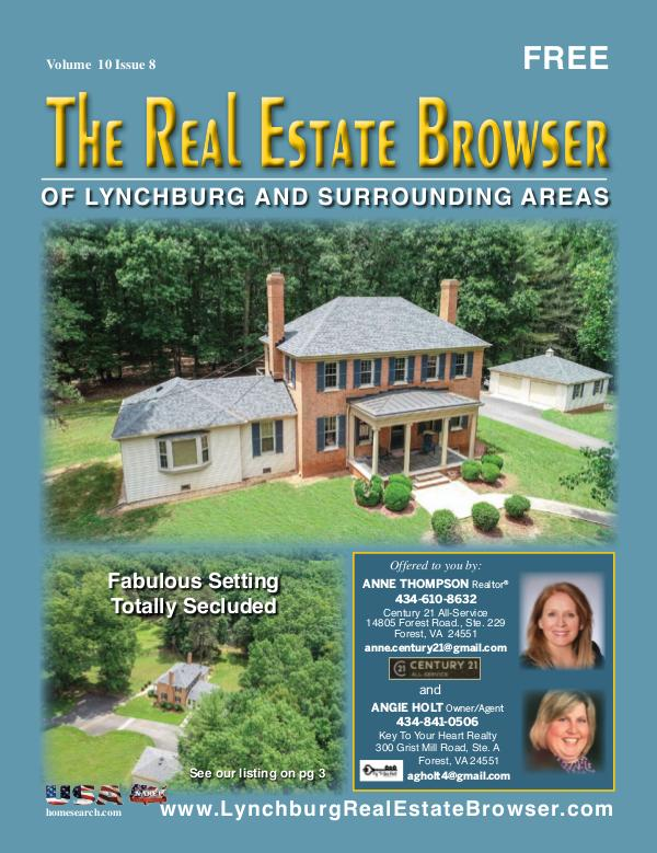 The Real Estate Browser Volume 10, Issue 8