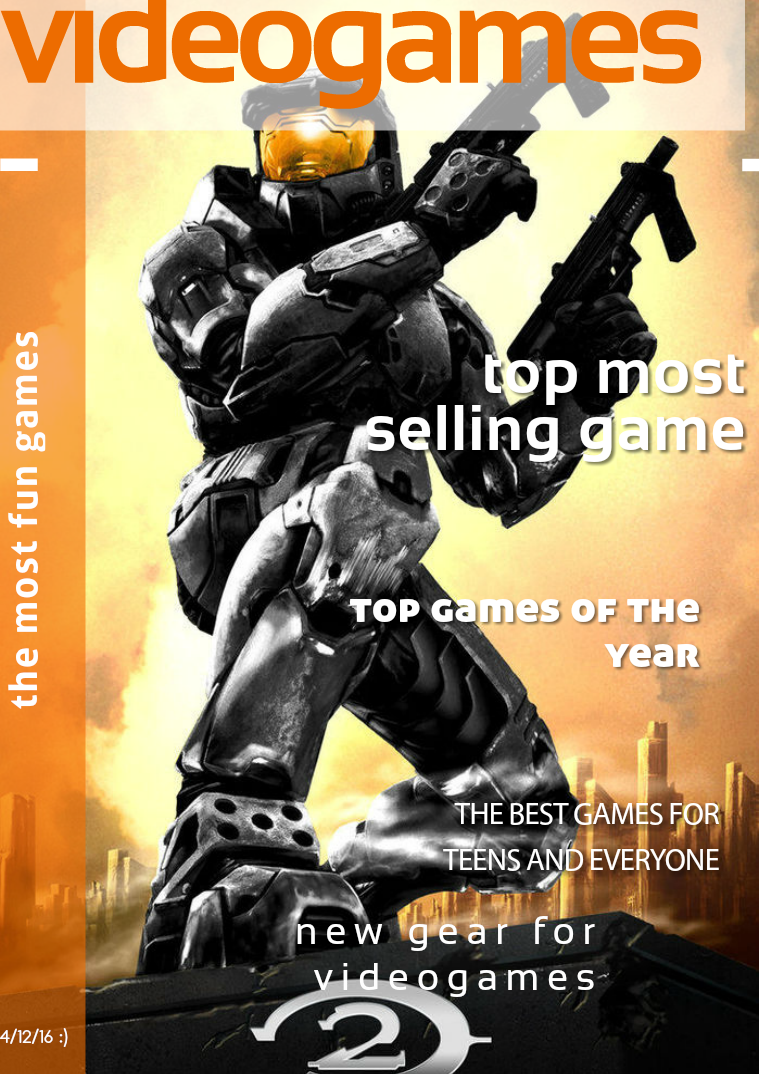 videogame magazine may ,2016