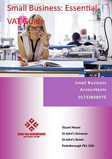 Small Business: Essential VAT Guide