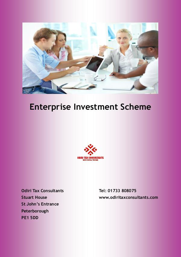 Enterprise Investment Scheme January 2017
