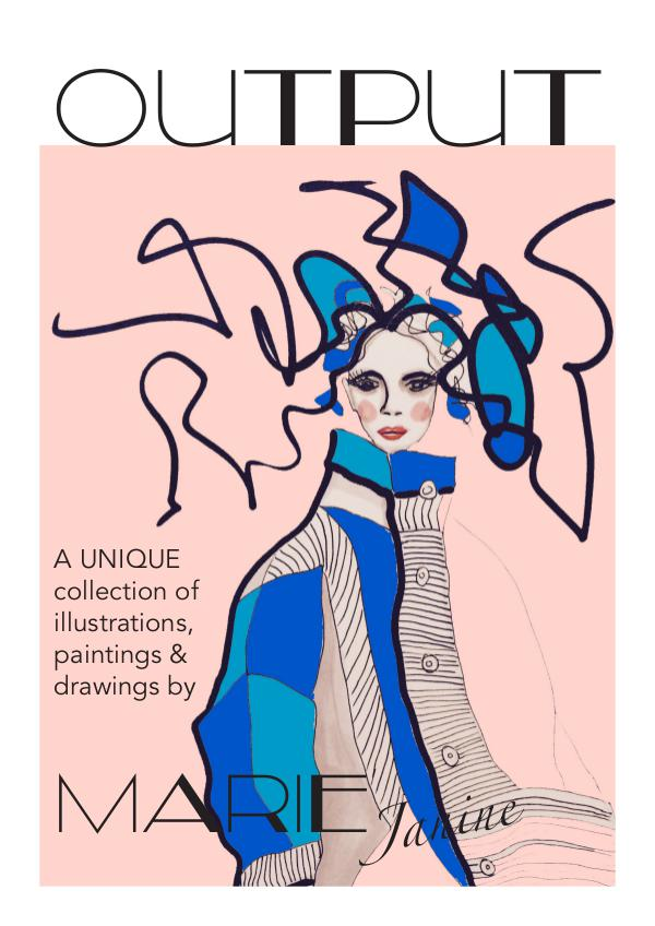 OUPUT - A Unique Collection of Illustrations, Paintings and Drawings OUTPUT