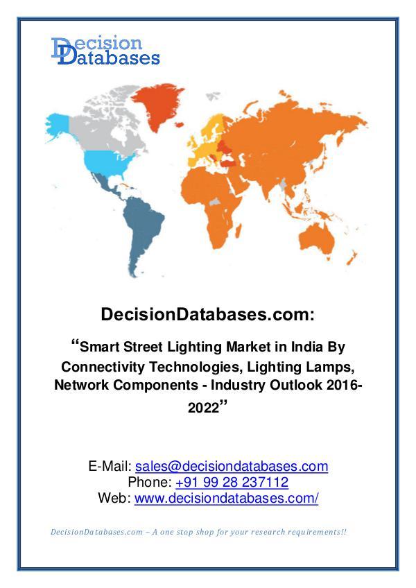 Smart Street Lightning Market Share and Forecast