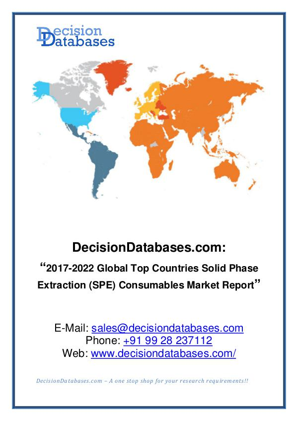 Market Report - Solid Phase Extraction (SPE) Consumables Market