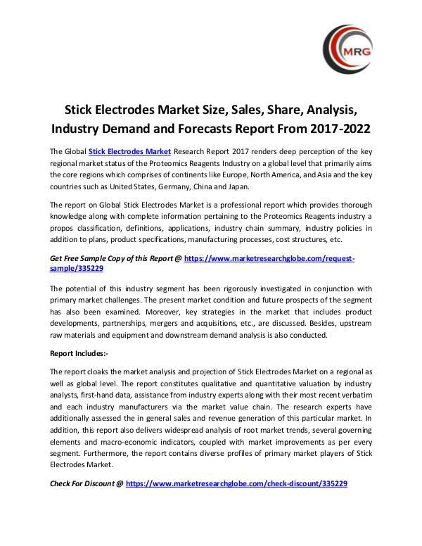 Stick Electrodes Market Size, Sales, Share, Analys