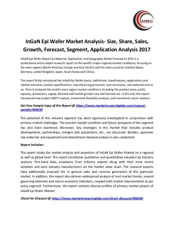 QY Research Groups InGaN Epi Wafer Market Analysis- Size, Share, Sale