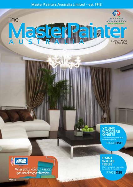 The Master Painter Australia - April 2016 Vol. 1